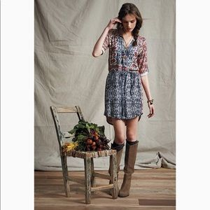Anthropologie Tiny Perenne Shirtdress Size LP